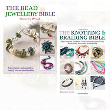 Creative Guide to Making Your Own Bead & knotted Jewellery 2 Books Set Pack