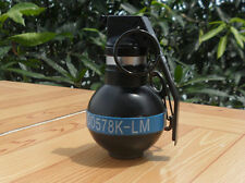 DUMMY CG04 FUZE M201A2 Remote Hand Grenade shape Windproof lighter Keychain blue