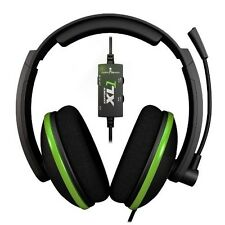 Turtle Beach Ear Force XL1 Black/Green Headband Headsets Microsoft Xbox 360