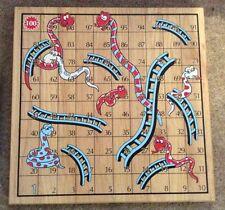 Nuevo Juego de Tablero de Madera - 2 Juego de las superficies serpientes & Escaleras & Ludo