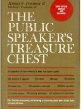 The public speaker's treasure chest: A compendium of source material to make you