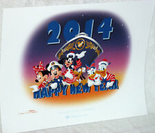Disney Cruise Line lithograph-Welcome to 2014-Don Ducky Williams-Ltd Ed-NEW