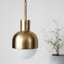 Modern Lamp Glow Brass Pendant Ceiling by House Doctor