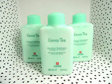 3 Victor by Perlier GREEN TEA Moisturizing EMULSION Face & Body 8.4 ea NEW(078)@
