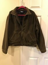 Polo By Ralph Lauren Men's Dark Olive Green Corduroy Jacket Size Large
