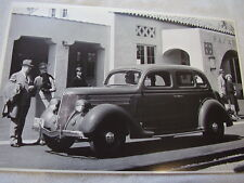 1936 FORD 4DR TRUNK BACK  12 X 18  LARGE PICTURE  PHOTO