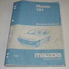 Werkstatthandbuch Mazda 121 Typ DA Motor Bremsen elektrik Stand Januar 1988!