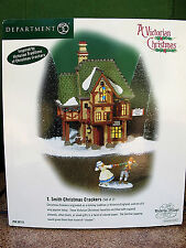 Dept. 56  Dickens Village T Smith Christmas Crackers Victorian 58719 New iN Box