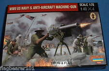 STRELETS SET M 112. WWII US NAVY & ANTI-AIRCRAFT MACHINE-GUN . 1/72 SCALE