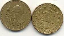 Pièce monnaie MEXIQUE MEXICO 1000 PESOS 1988 état voir scan