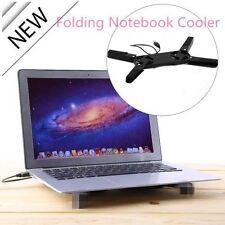 Folding colorful USB2.0 Laptop Notebook 2 Fans Cooler Cooling Pad DE