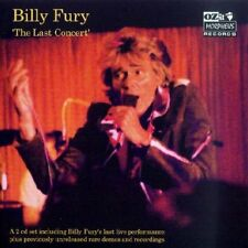BILLY FURY - THE LAST CONCERT   2 CD  2004  OZIT MORPHEUS RECORDS