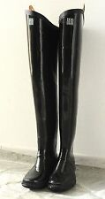 Kohshin Gummi-Watstiefel aus Japan, Latex black rubber waders NEW!