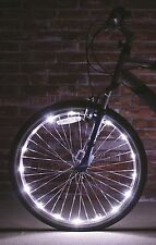 Wheel Brightz White Bright LED Light 1 Pc. Bicycle Tire Safety Bike Night Lights
