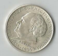 1936 BRIDGEPORT - SILVER COMMEMORATIVE HALF DOLLAR - GEM BU DETAILS***