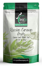 Russian Caravan Fruity Loose Leaf Black Tea Blend 1 oz. Inc 10 Free Tea Bags