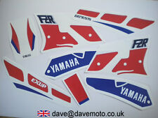 YAMAHA FZR1000EXUP 1989-90 MODEL YEAR STICKER KIT  RED/WHITE/BLUE