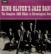 King Oliver, Louis Armstrong, Complete 1923 Okeh Recordings, PMC 7032 Mono LP