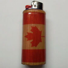 Canadian Flag Bic Lighter Case Holder Sleeve Cover