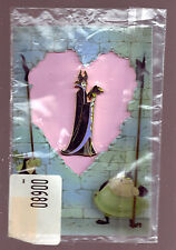 Disney Auctions MALEFICENT & DIABLO VALENTINE'S DAY LE 500 pin & CARD MIP