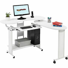 Compact Folding Computer Desk w Shelf Home Office - Piranha Furniture Mako PC 3s
