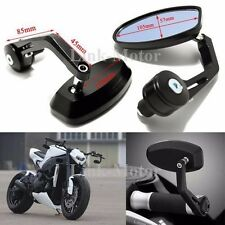 "MOTORCYCLE 7/8"" HANDLEBAR END MIRRORS FOR DUCATI MONSTER 696 796 1100 1200 821 S"