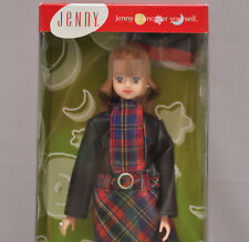 Jenny Takara Japanese barbie doll Mitsuki tartan plaid skirt blonde hair NIB