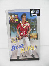 MATTEL ELVIS IN BLUE HAWAII BARBIE DOLL NIB PINK LABEL 2009