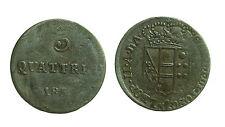 pci2723) Toscana Leopoldo II di Lorena (1824-1859) 3 Quattrini 1 Soldo 1851