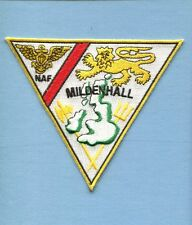 NAF NAVAL AIR FACILITY MILDENHALL ENGLAND AIR STATION US Navy Squadron Patch