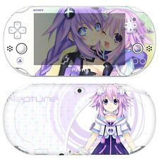 Skin Decal Sticker For PS Vita Slim 2nd Gen PCH-2000 Series-POPSKIN Neptune #08