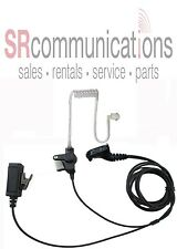 2 Wire Headset WPTT for Motorola XPR6500 XPR6350 XPR6550 XPR7550 XPR6300 XPR6580