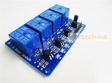 4CH 4 Channel Relay Module With optocoupler for Arduino PIC AVR DSP ARM DC 12V