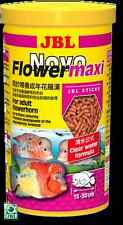 JBL NovoFlower maxi 440g/1L sticks for large Flowerhorn cichlids