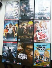 Bundle Of DVDs Xmen Batman Twilight Underworld Planet of the apes White Chicks