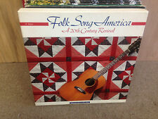 Folk Song America A 20th Century 6x LP EX w/Book 1991 Kingston Trio Doc Watson
