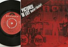 THE WHO PICTURES OF LILY & DOCTOR! NORWAY 45+PS 1967 MOD FREAKBEAT HIGH NUMBERS
