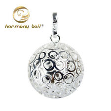 Hollow Bubble Design Harmony Ball Mexican Bola Jingle Bell Pendant Musical Sound