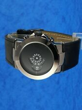 60s 70s unusual futuristic space age rare old style modern disc disk watch 84