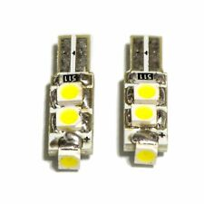 2x T5 74 5-SMD SMT LED White Cluster Dash Board Instrument Panel Light Car Bulb