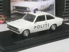selten: Trofeu Nordic Collection Ford Escort Politi Dänemark  1:43 in OVP