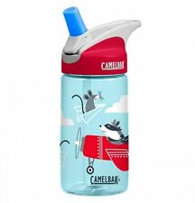 New Camelbak Eddy Kids Water Bottle Airplane Bandit 400ml 12oz Ergonomic Tumbler