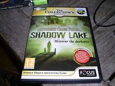 MYSTERY CASE FILES SHADOW LAKE THE COLLECTORS EDITION PC CD ROM