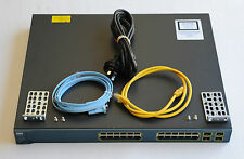 CISCO WS-C3560G-24PS-E  24 GigabitT PoE + 4 SFP Managed Switch - 1 YEAR WARRANTY