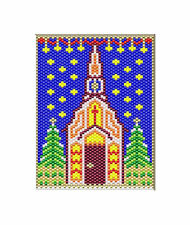 Holy Night~Beaded Banner Pattern Only