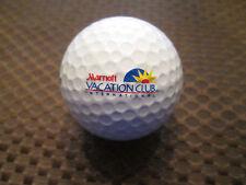LOGO GOLF BALL-MARRIOTT VACATION CLUB INTERNATIONAL GOLF RESORT....NEW!!