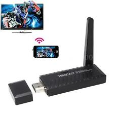 Miracast WiFi Display Dongle TV DLNA Airplay Mirroring HDMI 1080P Media Sharing