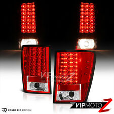 2005-2006 GRAND CHEROKEE RED/CLEAR LED Brake Signal Lamp Tail Light Left+Right