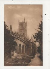 Cirencester Church From NE Vintage Postcard 803a