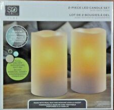 Sarah Peyton 2-piece LED Candle Set with Daily Timer (N195)
